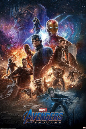 Avengers Endgame Film Poster