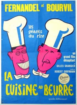 Cuisine au beurre film poster for La cuisine au beurre
