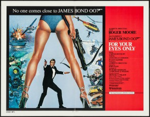 FOR YOUR EYES ONLY - JAMES BOND