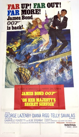 ON HER MAJESTY'S SECRET SERVICE - JAMES BOND