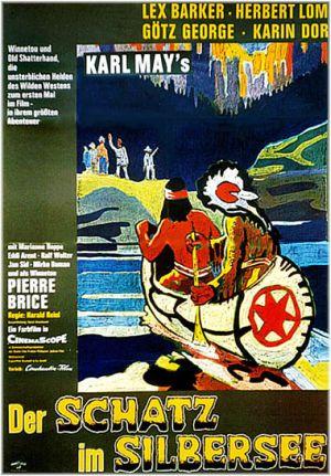Winnetou und der schatz im silbersee film plakat for Der schatz im silbersee