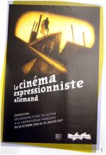 CINEMATHEQUE FRANCAISE - LE CINEMA EXPRESSIONNISTE ALLEMAND