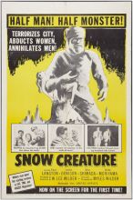 SNOW CREATURE, THE