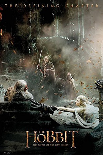 hobbit battle of the five armies film poster