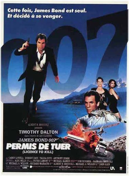 LICENCE TO KILL - JAMES BOND